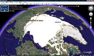 1979年の北極