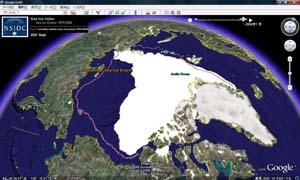 2008年の北極