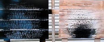 不燃木材 耐火性テスト